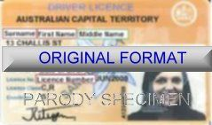 Alberta Driver License Format ID Cards Designs Templates Novelty Software Card Hologram
